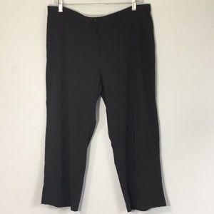 Nike Dri Fit Womens Capri Pants Black Large